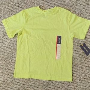Unisex neon yellow-green T-shirt